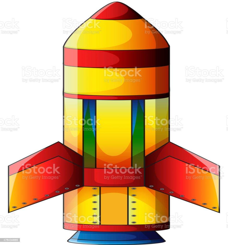 colorful explosive bomb vector art illustration
