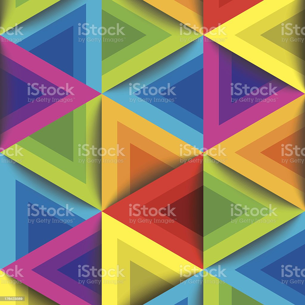 colorful geometric pattern royalty-free stock vector art
