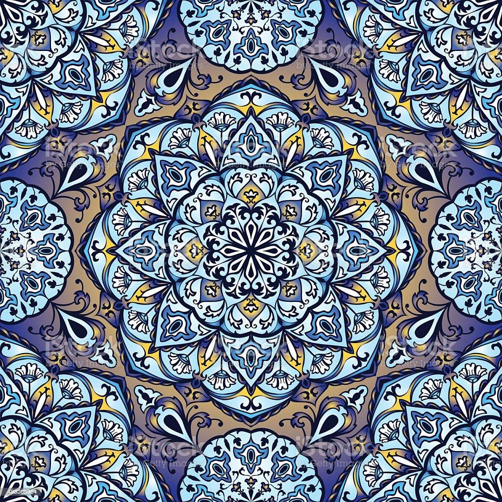 Colorful, glaze seamless pattern. vector art illustration