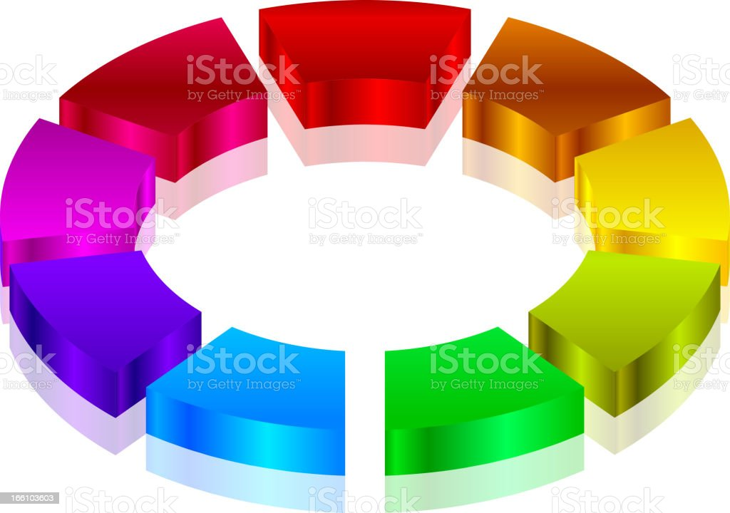 Colorful icon royalty-free stock vector art