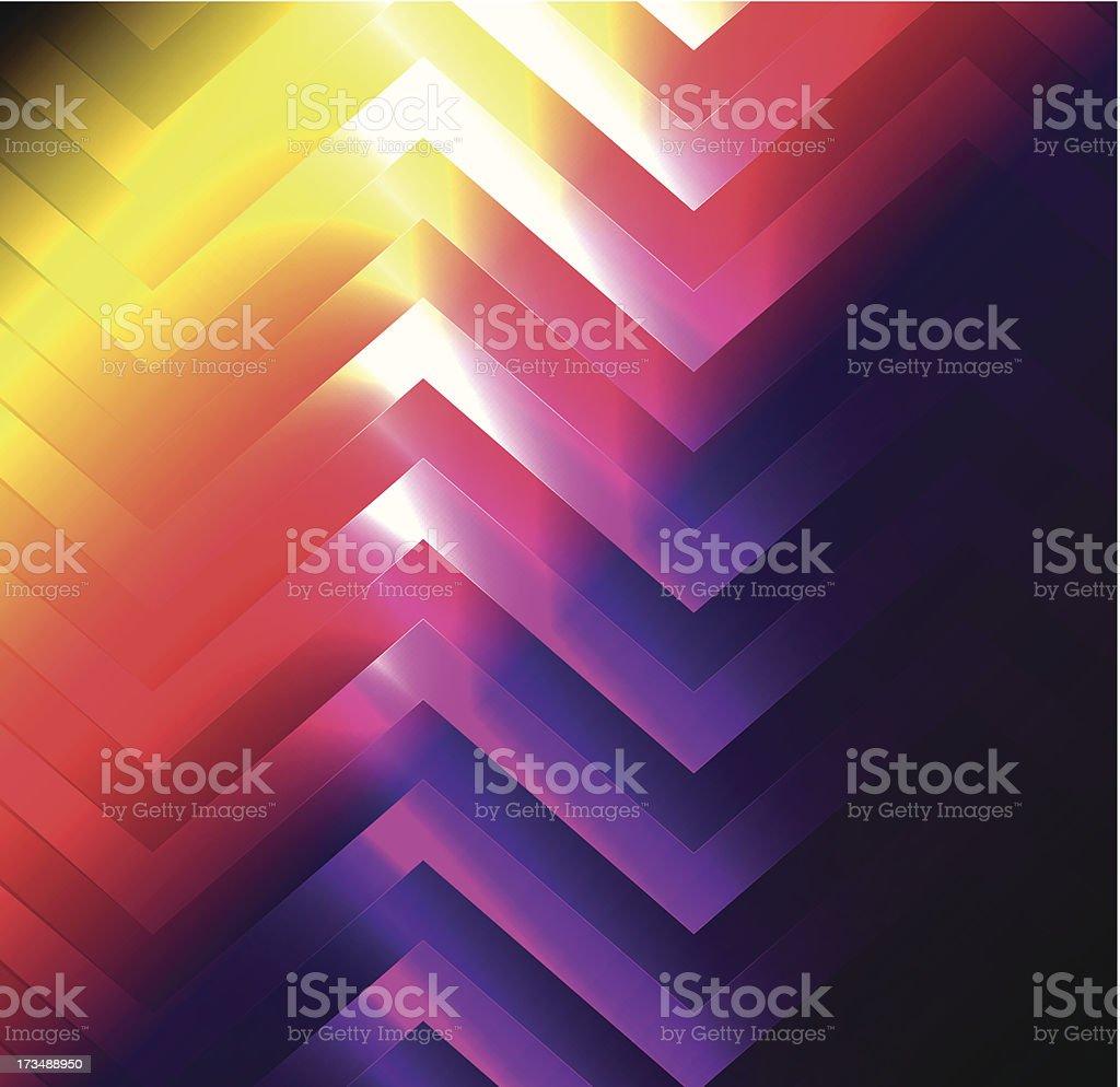 Astratto sfondo colorato luci illustrazione royalty-free