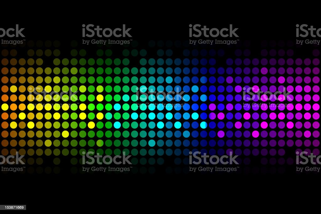 Colorful lights royalty-free stock vector art
