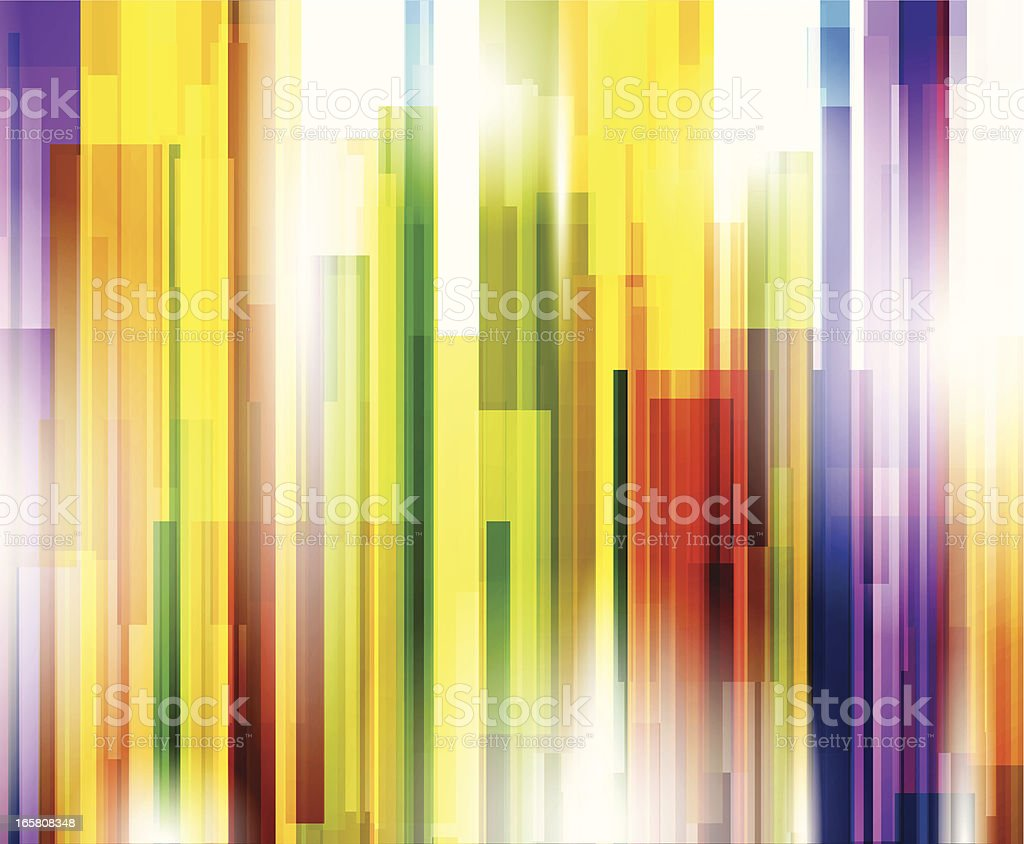 Colorful lines royalty-free stock vector art