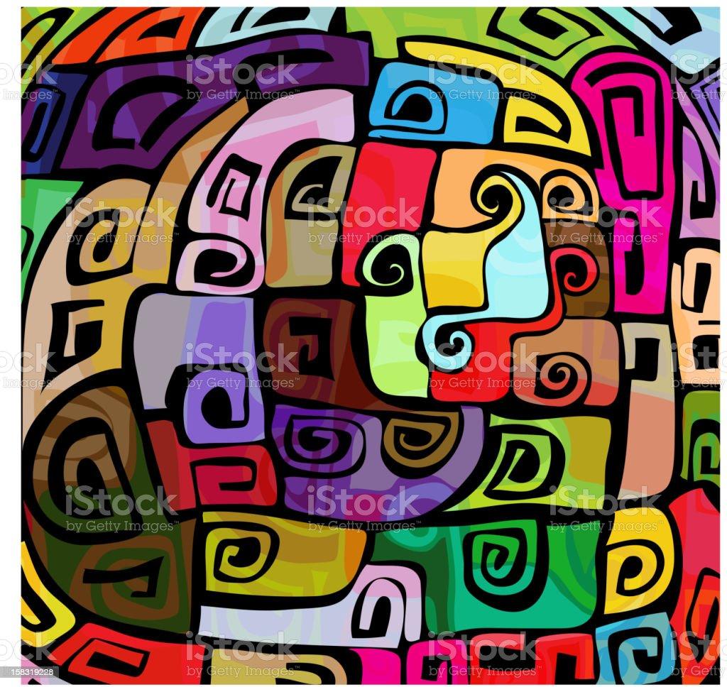 Colorful modern design royalty-free stock vector art