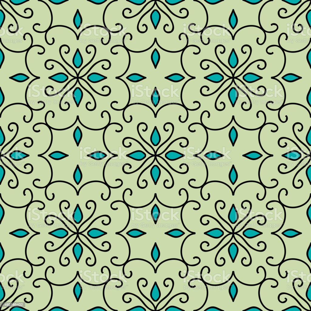 marokkanische tapete. Black Bedroom Furniture Sets. Home Design Ideas
