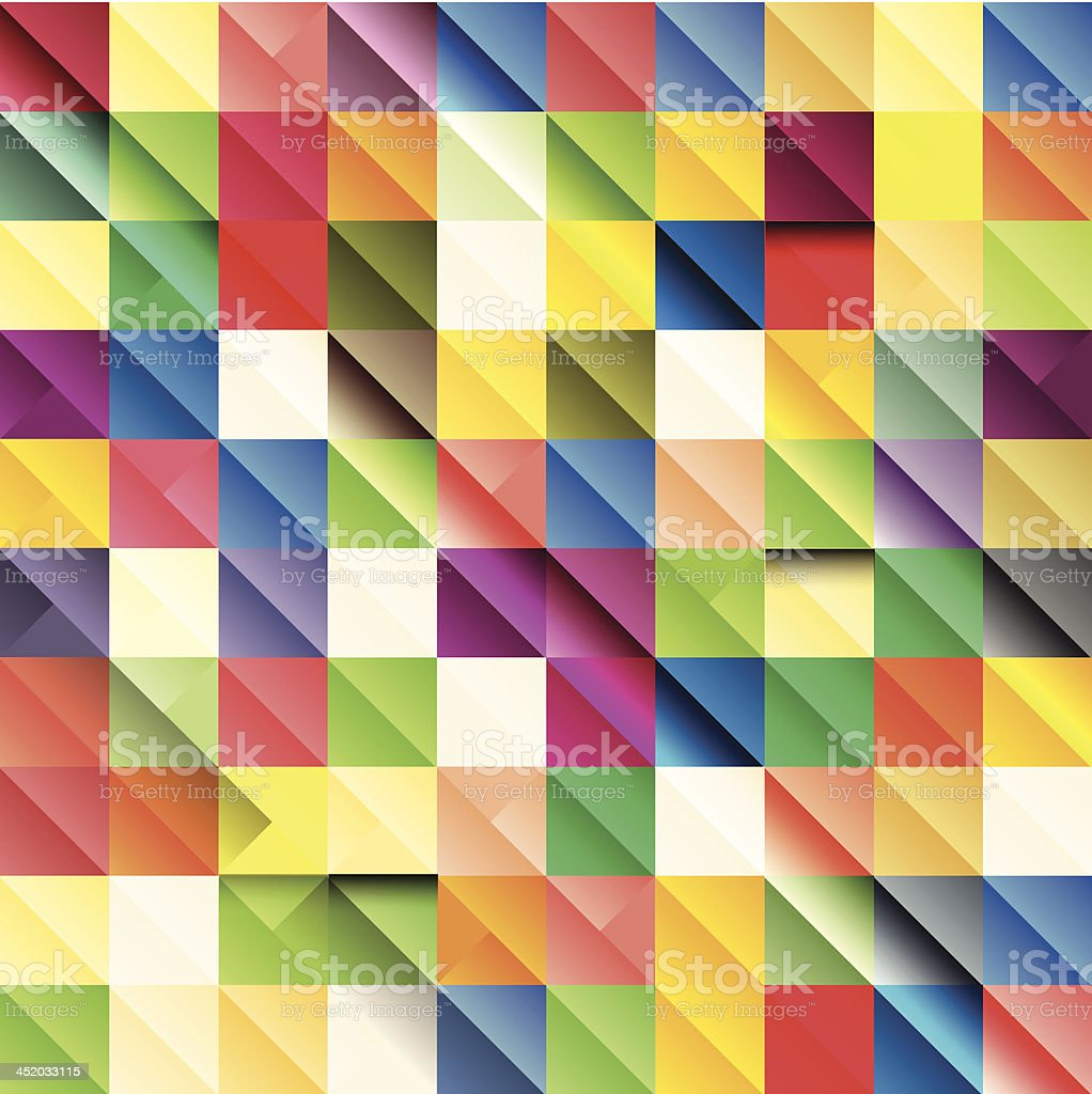 Colorful mosaic background royalty-free stock vector art