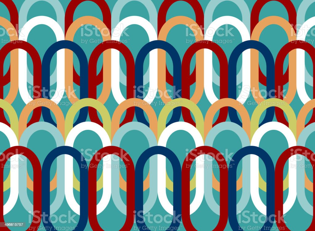 Colorful Oval royalty-free stock vector art