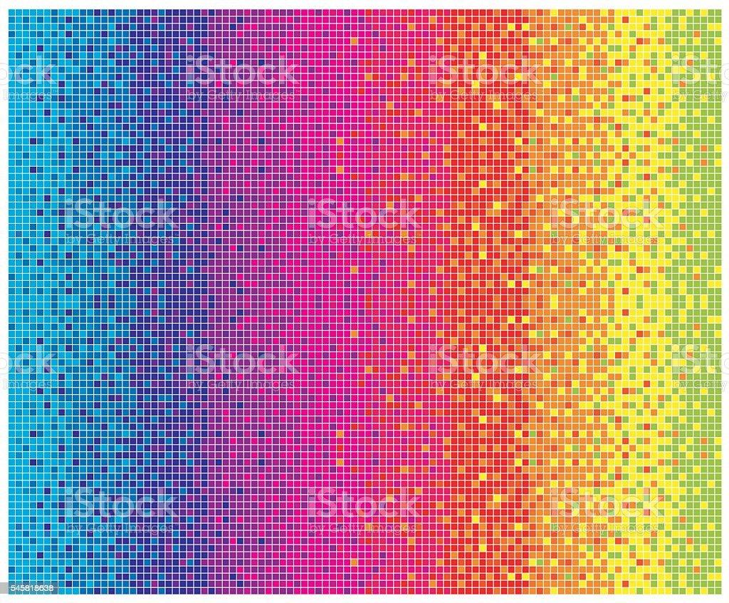 Colorful pattern background - Illustration vector art illustration