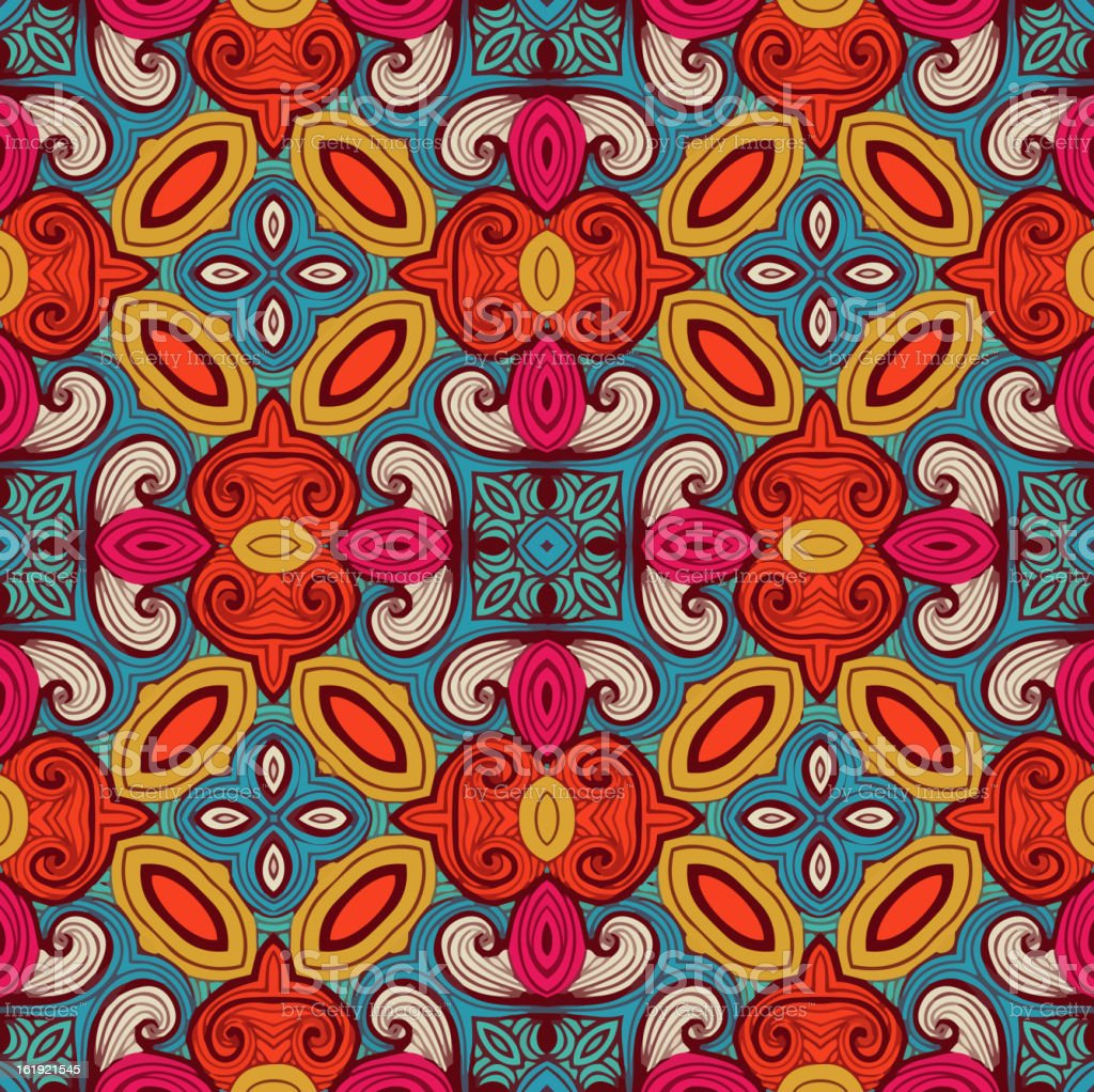 Colorful pattern_2 royalty-free stock vector art