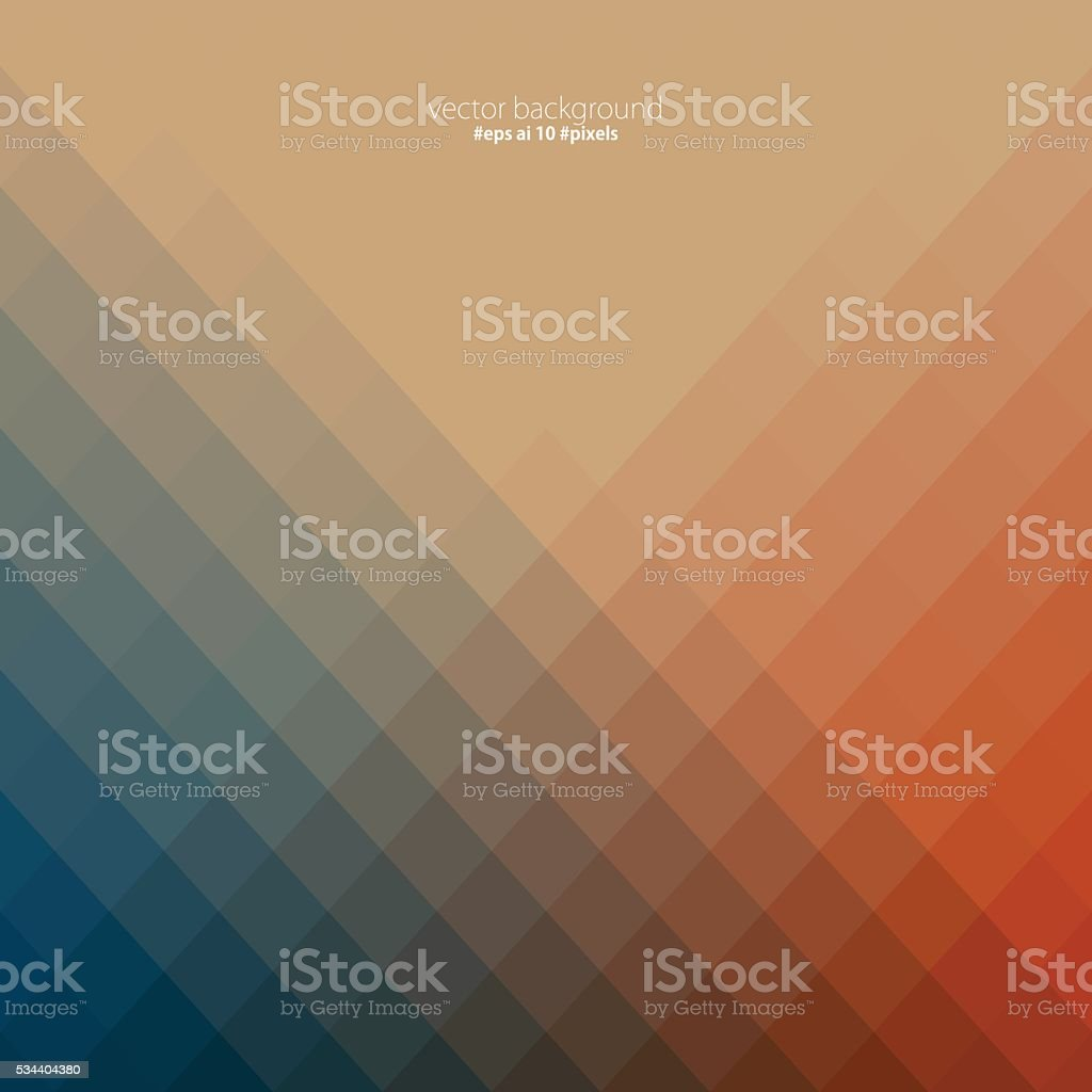 Colorful pixels background vector art illustration