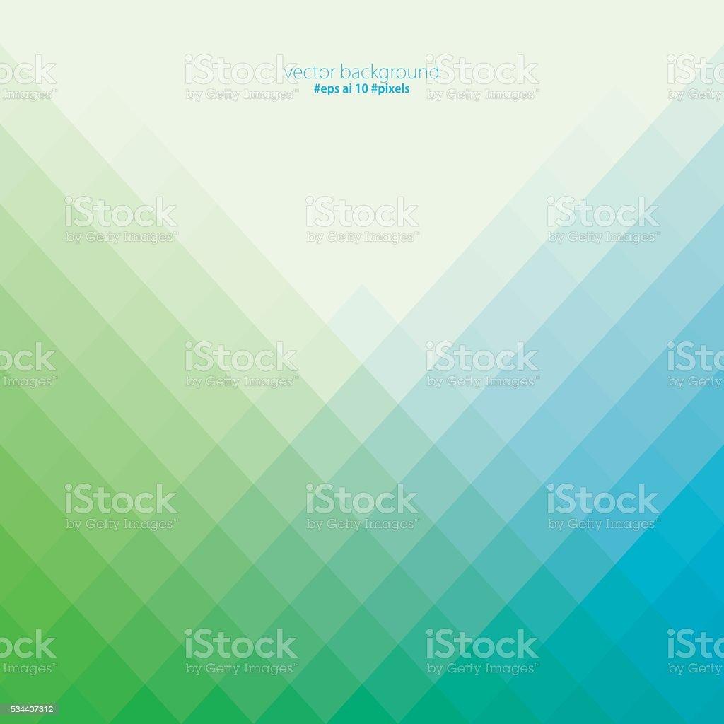 Colorful pixels background vector art illustration