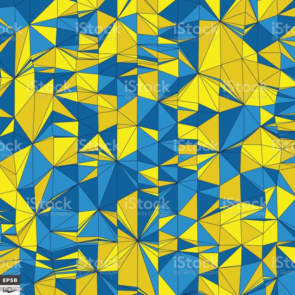 Colorful Pixels Mosaic. Abstract Background. vector art illustration