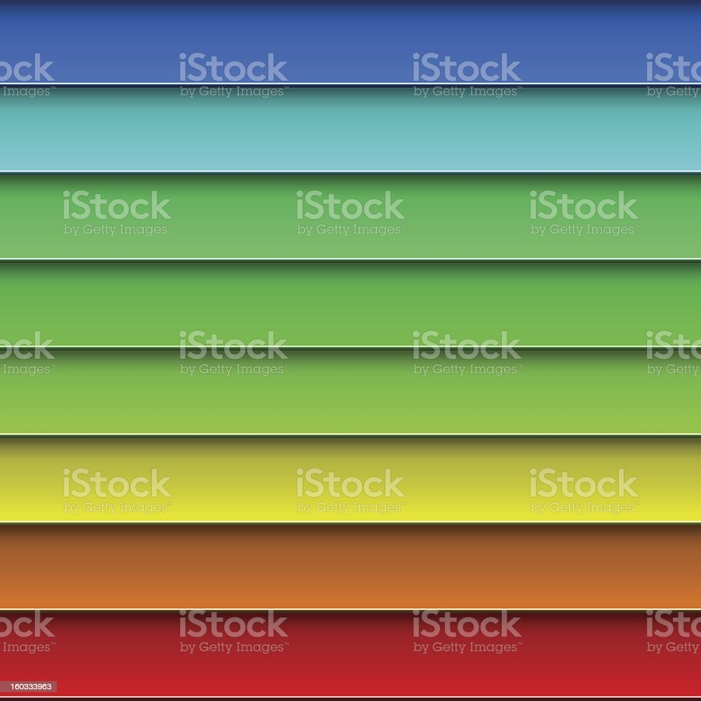 Colorful planks background royalty-free stock vector art