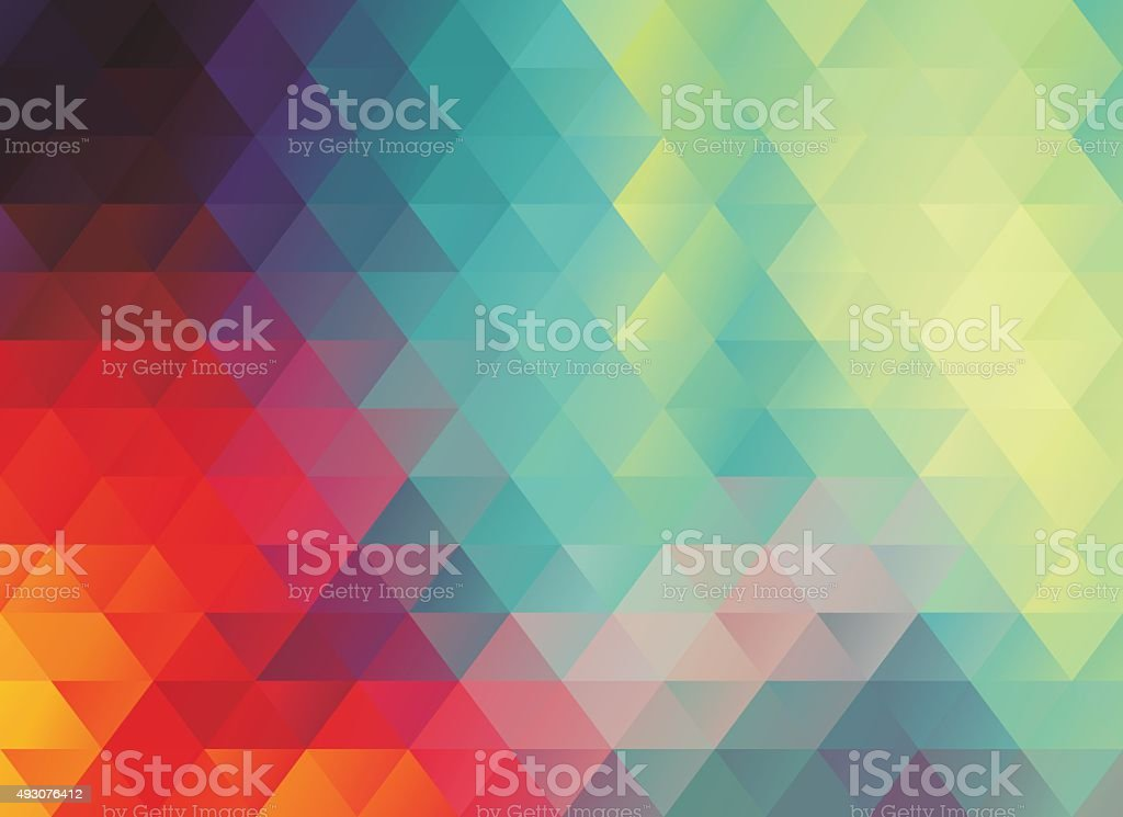 colorful polygonal abstract background vector art illustration