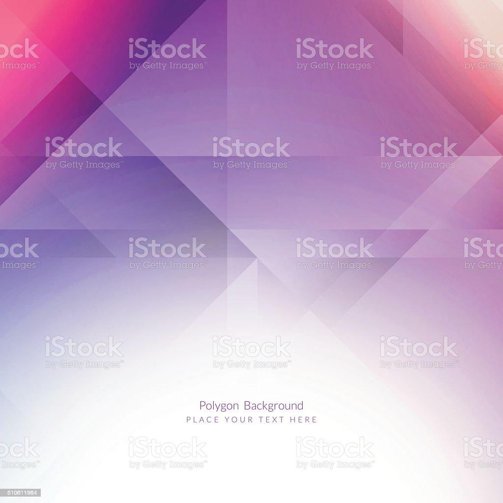Colorful polygonal background vector art illustration