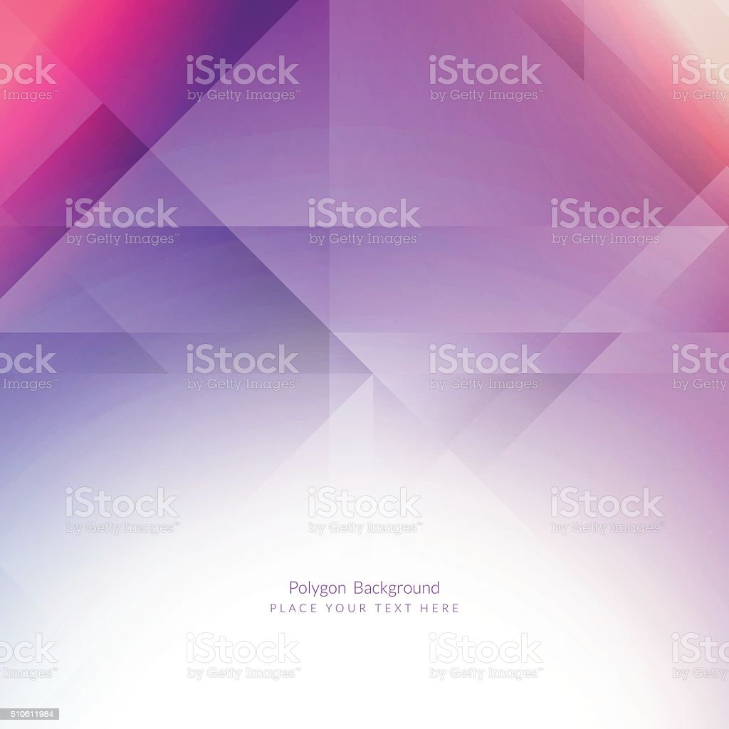 Colorful polygonal background vector art illustration