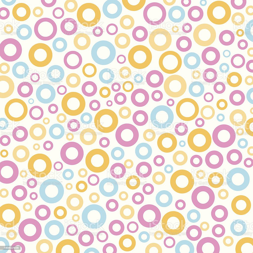 colorful ring pattern royalty-free stock vector art