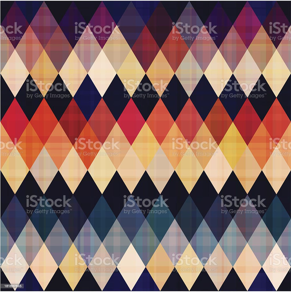colorful seamless argyle pattern royalty-free stock vector art