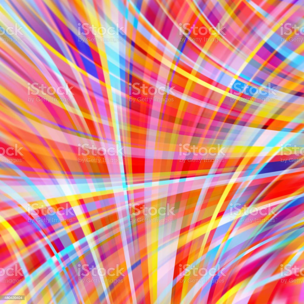 Colorful smooth light lines background vector art illustration