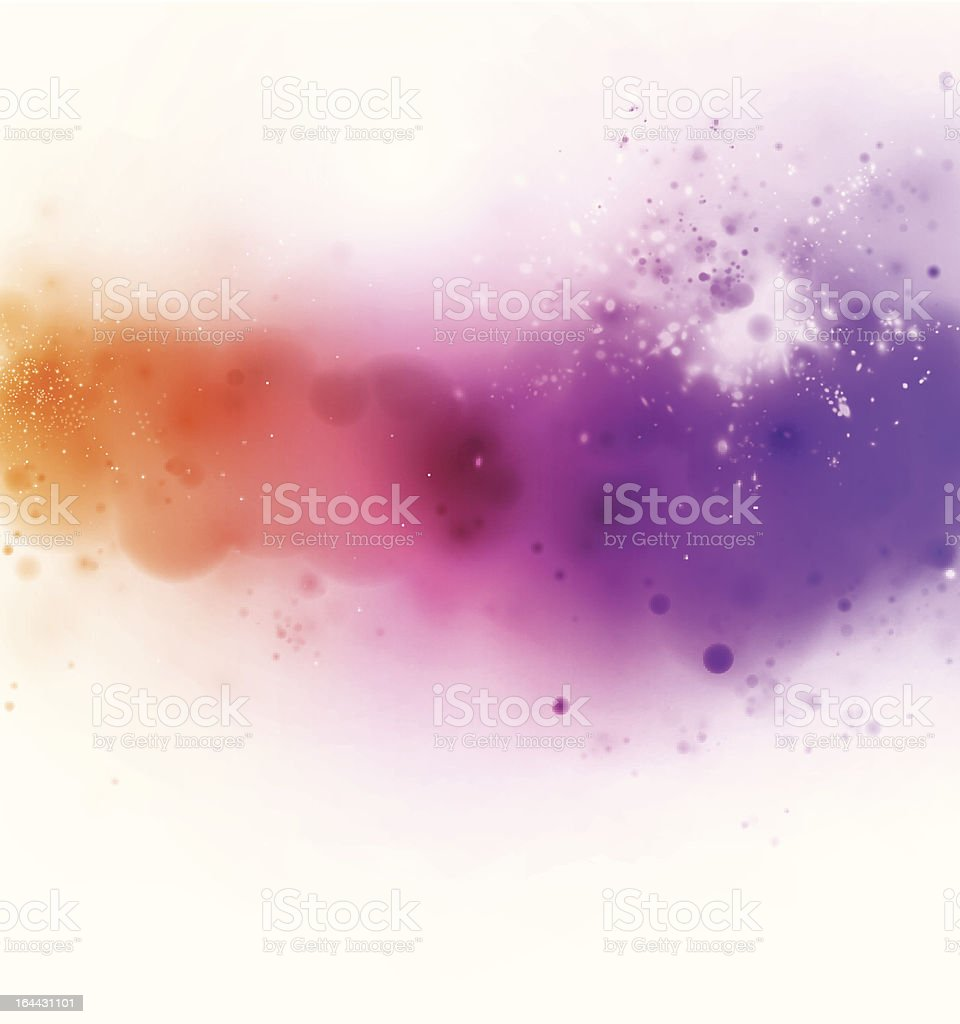 Colorful splash vector art illustration