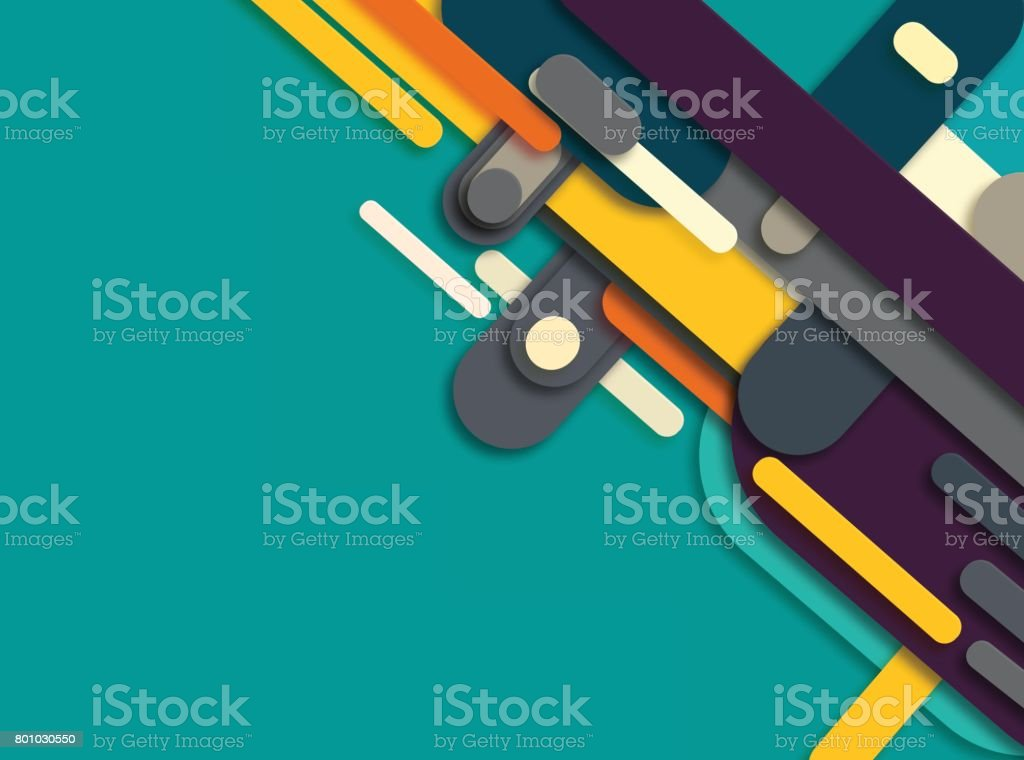 colorful stripe pattern background vector art illustration