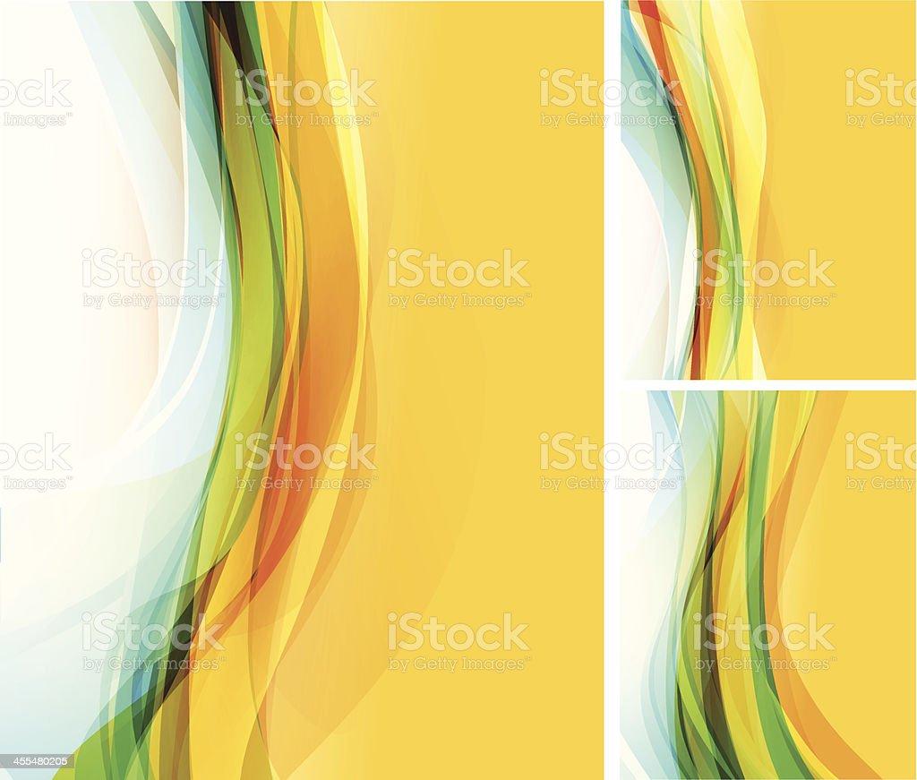 Colorful stripes vector art illustration
