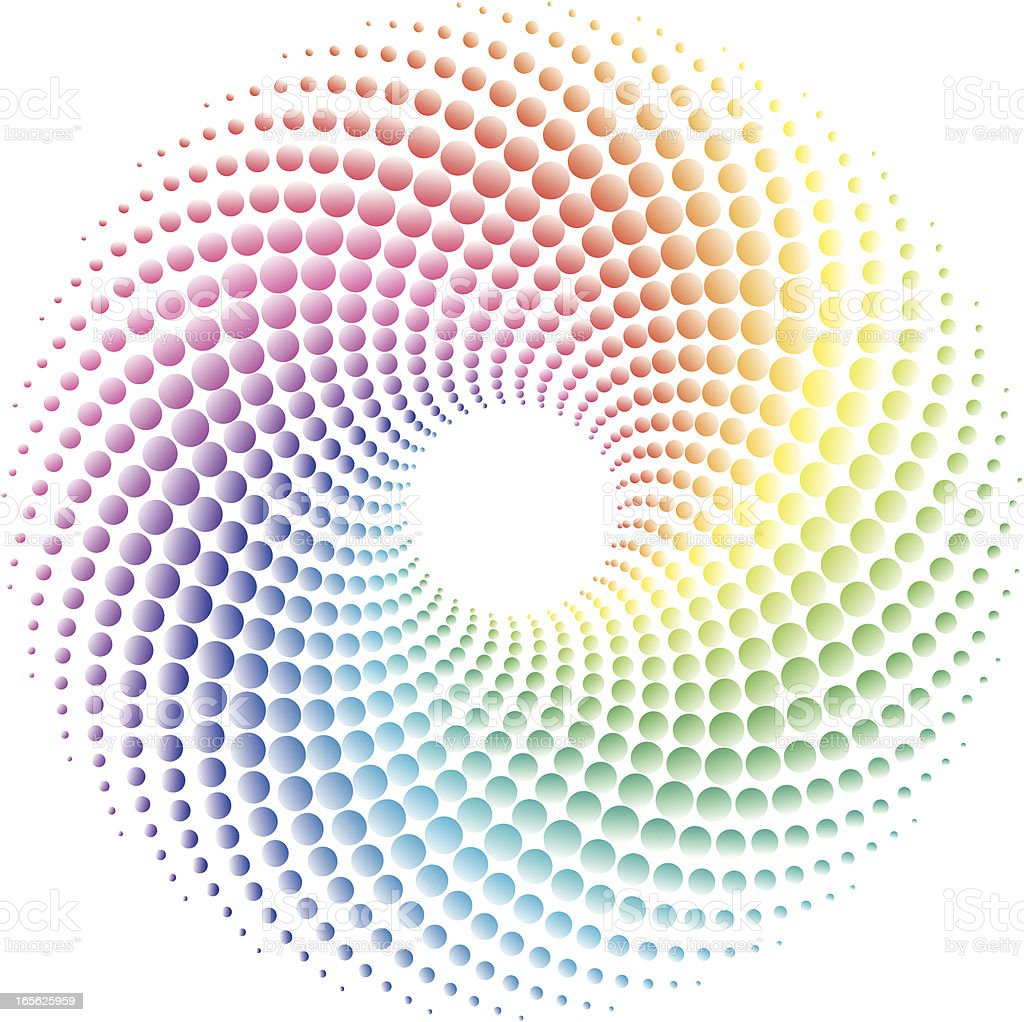 colorful Swirl royalty-free stock vector art