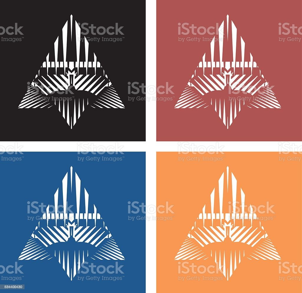 Colorful Technology Icon Set vector art illustration