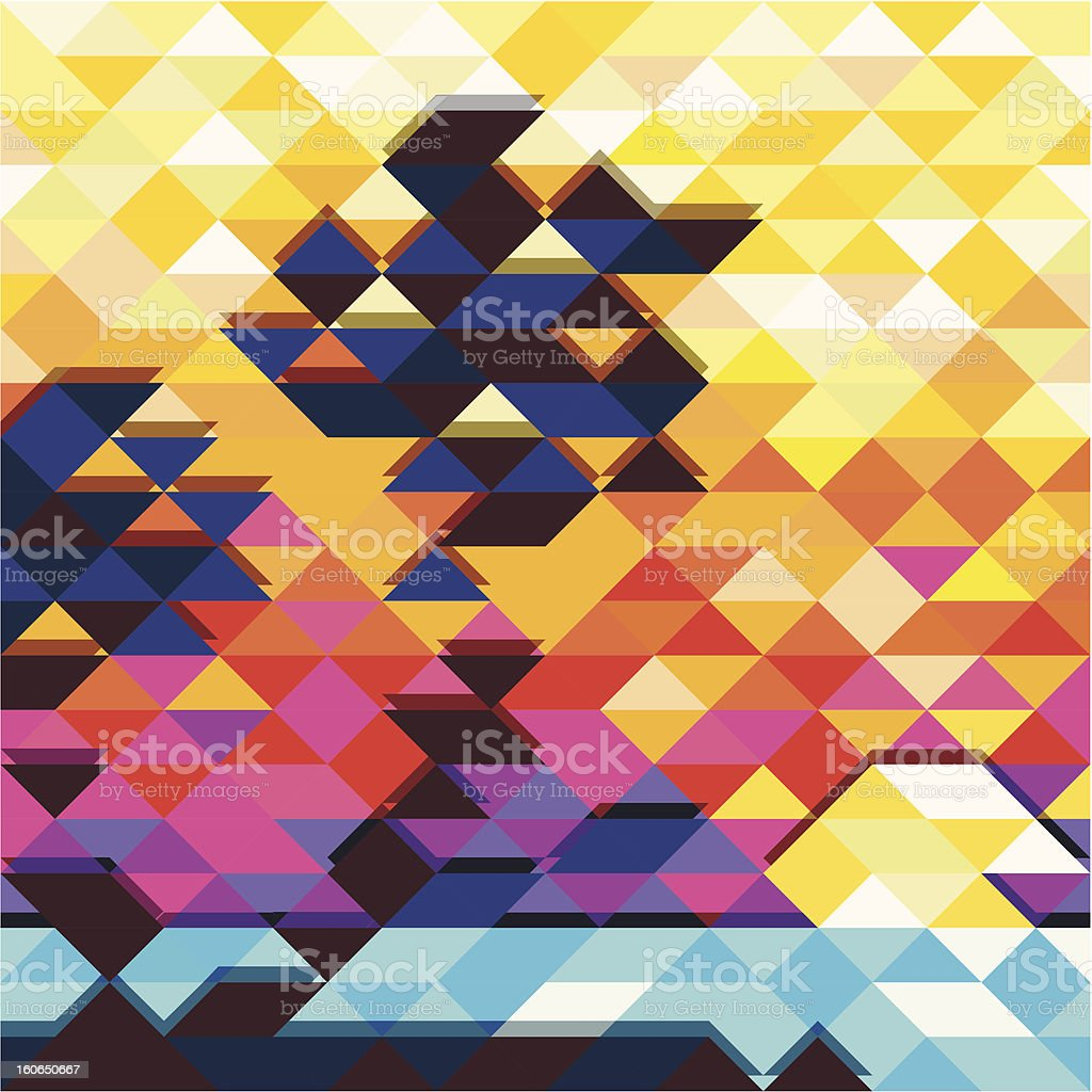 colorful vector background royalty-free stock vector art
