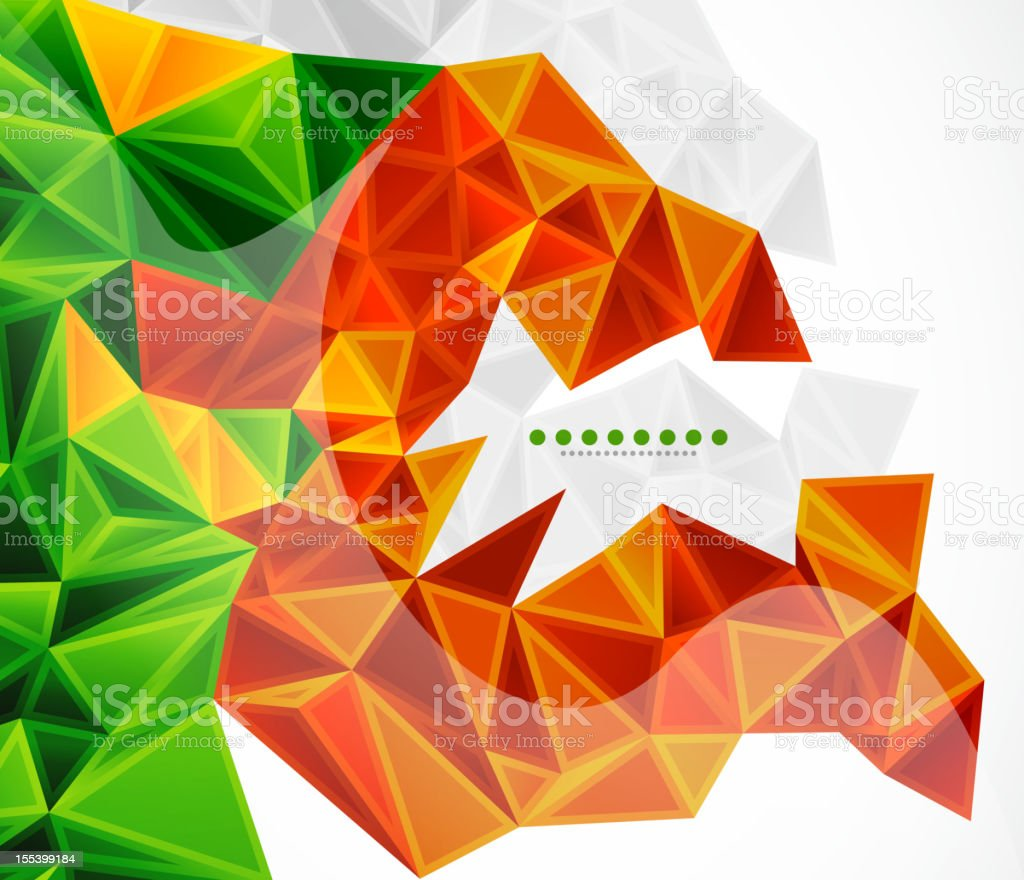 Colorful vector mosaic background royalty-free stock vector art
