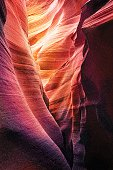 Colorful Vector of Lower Antelope Canyon