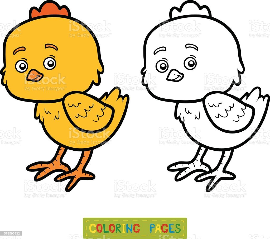 coloring book for children little stock vector art 578595332