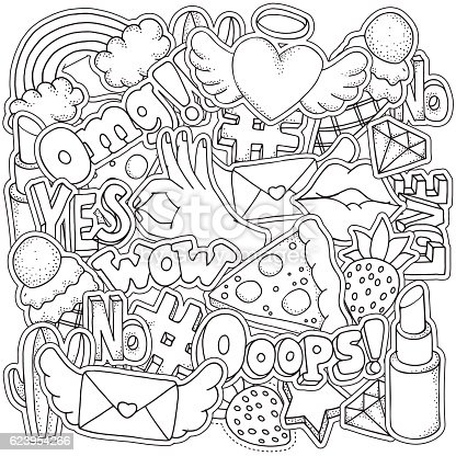 Coloring Book For Fashion : The masters of fashion illustration adult coloring book u2013 a look