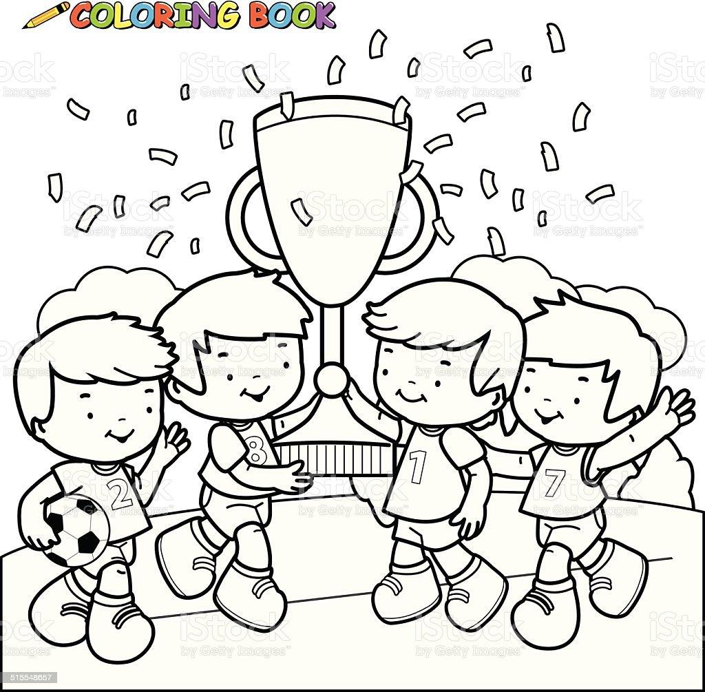Vistoso Colorear Equipos De Fútbol Ideas - Dibujos Para Colorear En ...