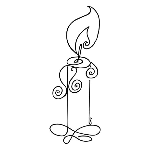 Candle Light Dinner Clip Art Vector Images