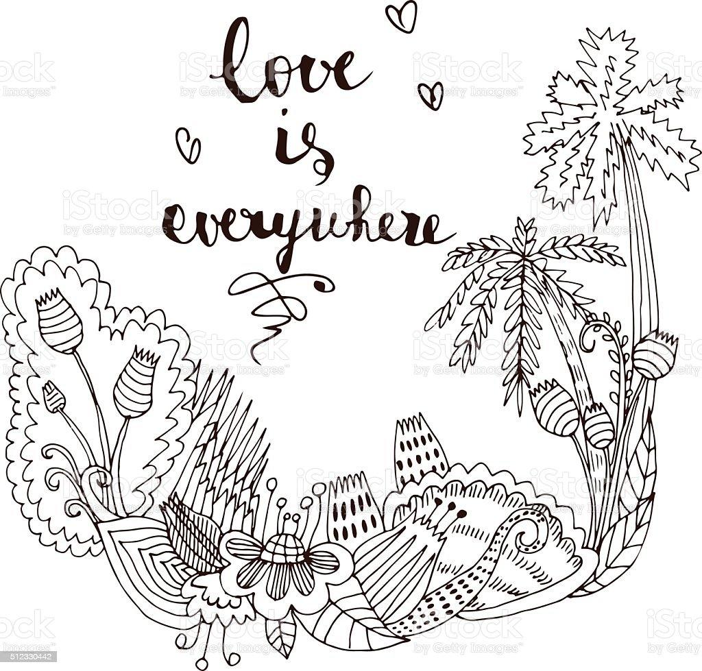 Colorear Amor Illustracion Libre de Derechos 512330442 | iStock