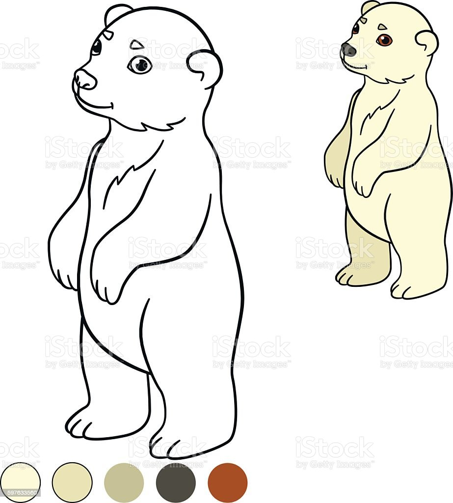 polar bear coloring pages free printable polar bear coloring