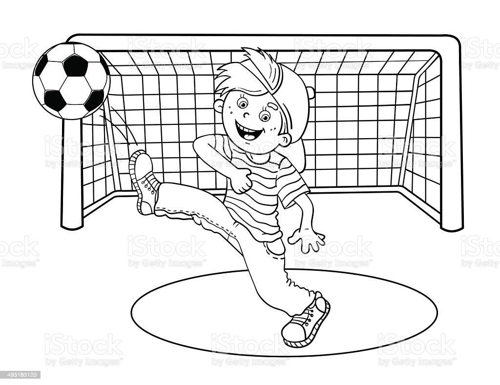Contemporáneo Dibujos Para Colorear Bolas De Deporte Patrón ...