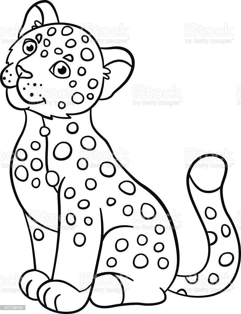 coloring pages baby jaguar - photo#16