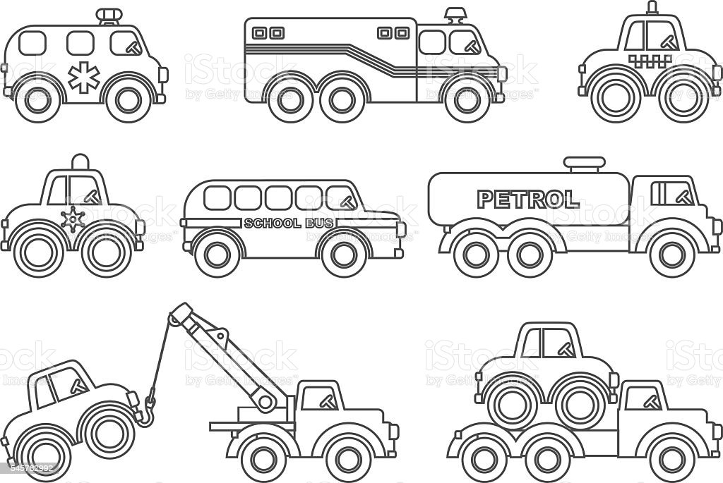 Coloring Pages Of Stock Cars: Cute Car Coloring Page ...