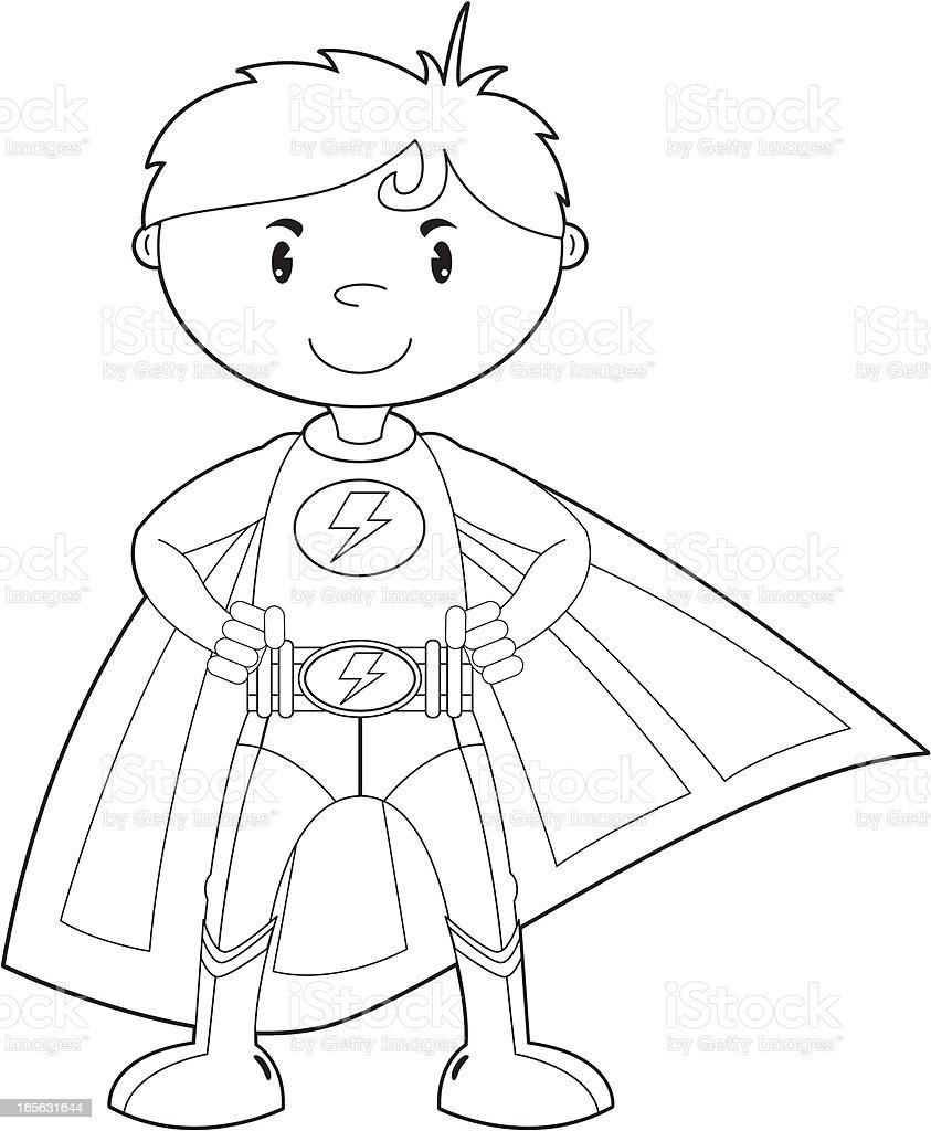 super boy coloring pages - photo#26