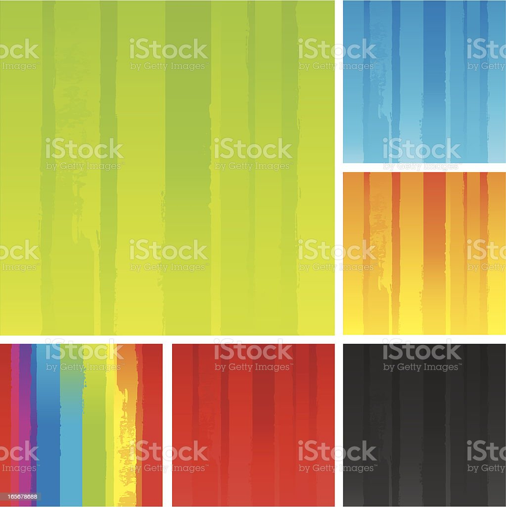 Coloured backgrounds royalty-free stock vector art