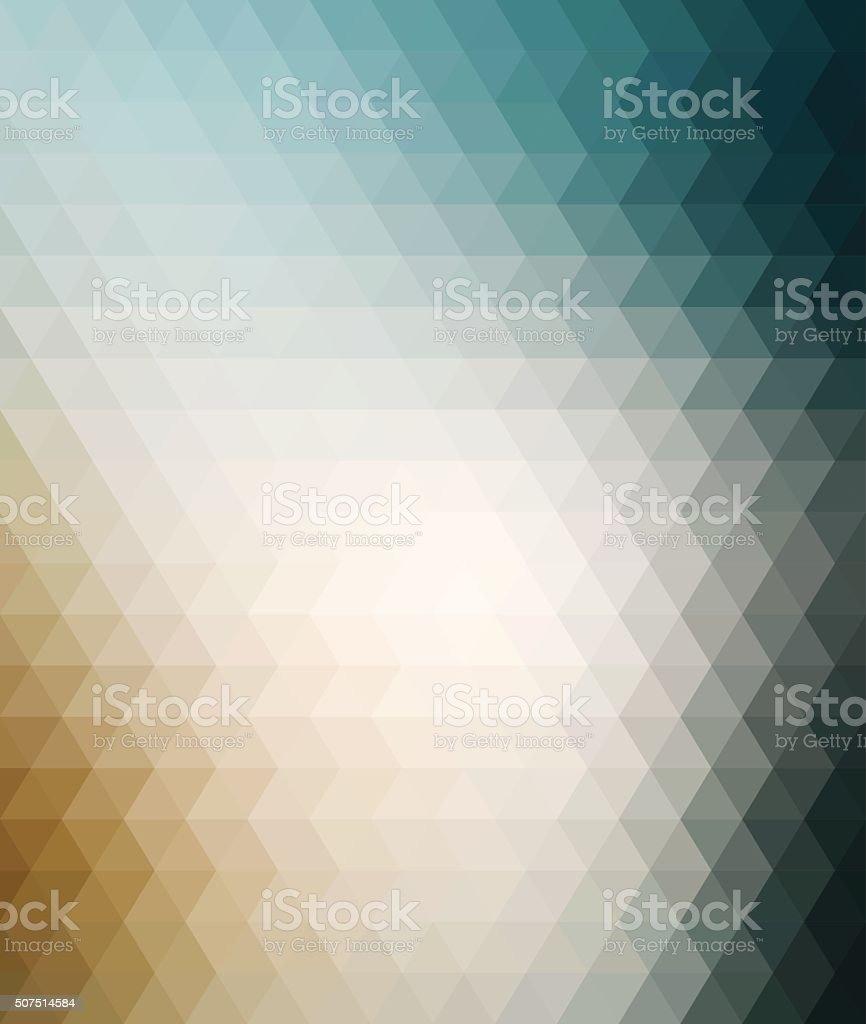 Colourful Geometric Background vector art illustration