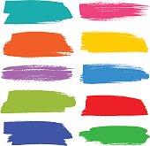 Colourful strokes