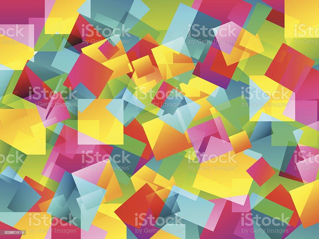 Colourful Wallpaper vector art illustration