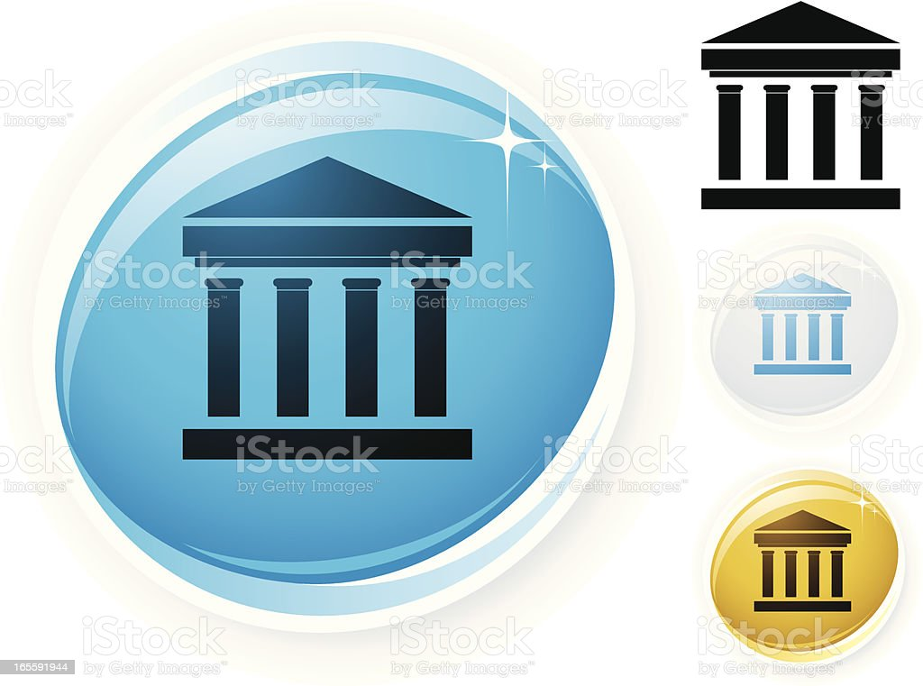 Column icon royalty-free stock vector art