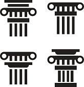 Column icons set
