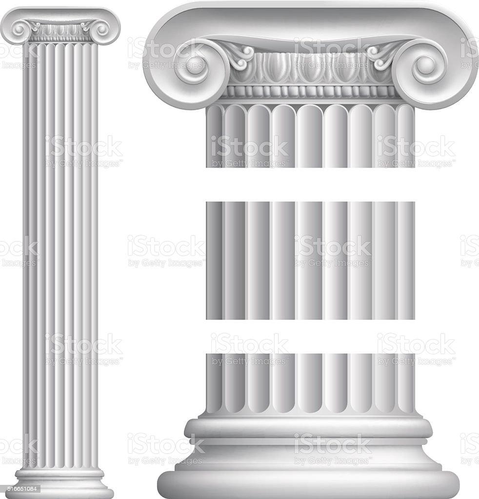 Column Pillar vector art illustration