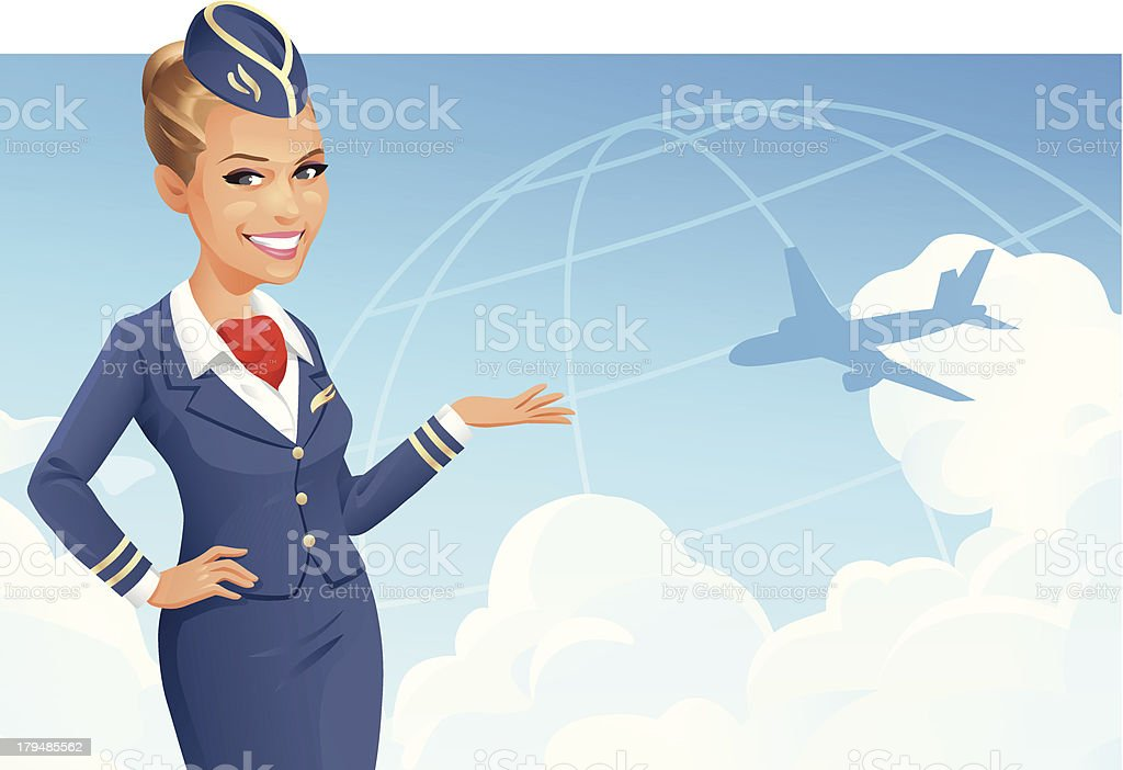 Come Fly With Me royalty-free stock vector art