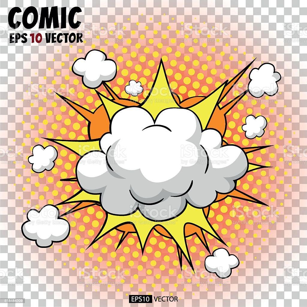 Comic blast royalty-free stock vector art